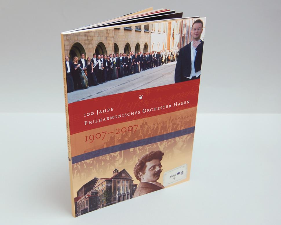 Buch 100 Jahre Philharmonisches Orchester Hagen Titelseite