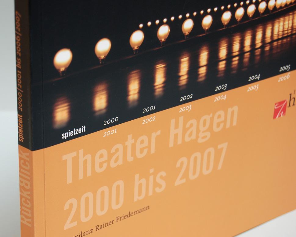 Buch Theater Hagen 2000 bis 2007 Titelseite Detail