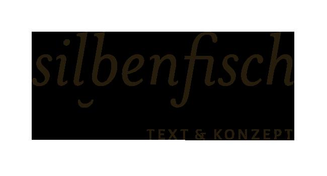 Silbenfisch Text & Konzept Logo