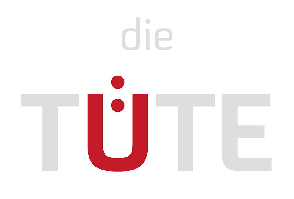 Logo die Tüte mit hervorgehobenem Ü
